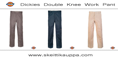 Dickies Double Knee Work Pant - Loose Fit