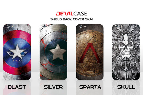 SAMSUNG Note 4 Back Cover Skin - SHIELD