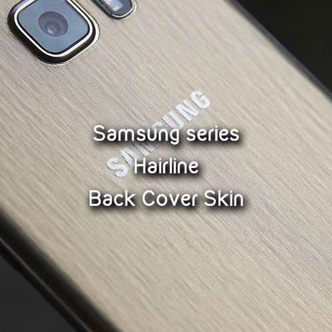 SAMSUNG Note FE (Fan Edition) Back Cover Skin - TRANSPARENT