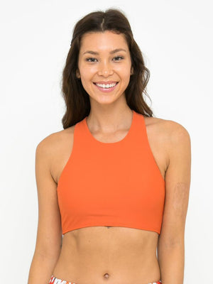 ROCHELLE BRA // SPICY ORANGE