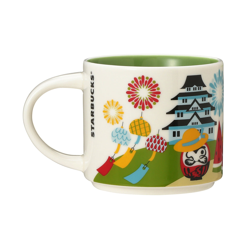 You Are Here Collection Mug JAPAN Summer 414ml Green Starbucks 2019