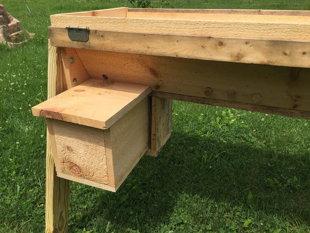 Nuc Up - Transfer 5 Frame Langstroth Nuc to Top Bar Hive