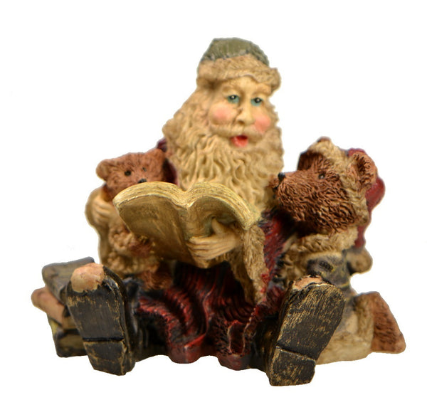 Holiday | Christmas Santa Claus with Bears Figurine