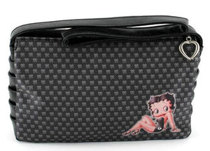 Fashion | Betty Boop Black Logo Handbag Purse