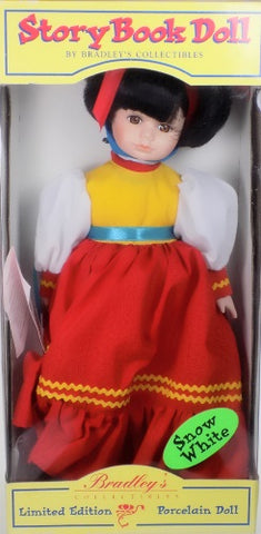 Shop Bradley Dolls Snow White Story Book Doll at One Great Shop For Dolls