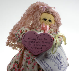 "Enesco | Li'l Gabbers Rag Doll ""A Daughter"""