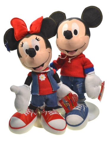 Collectibles | Disney Mickey and Minnie Mouse Cloth Dolls