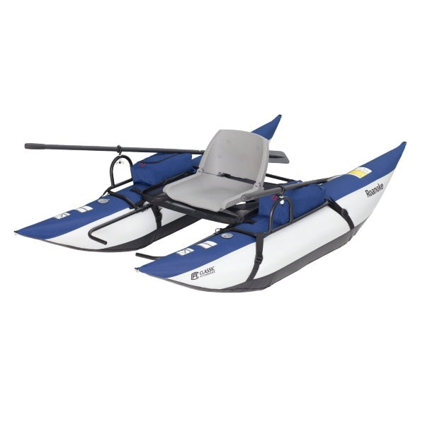 Inflatable Boat Set with Aluminum Oars and Air Pump