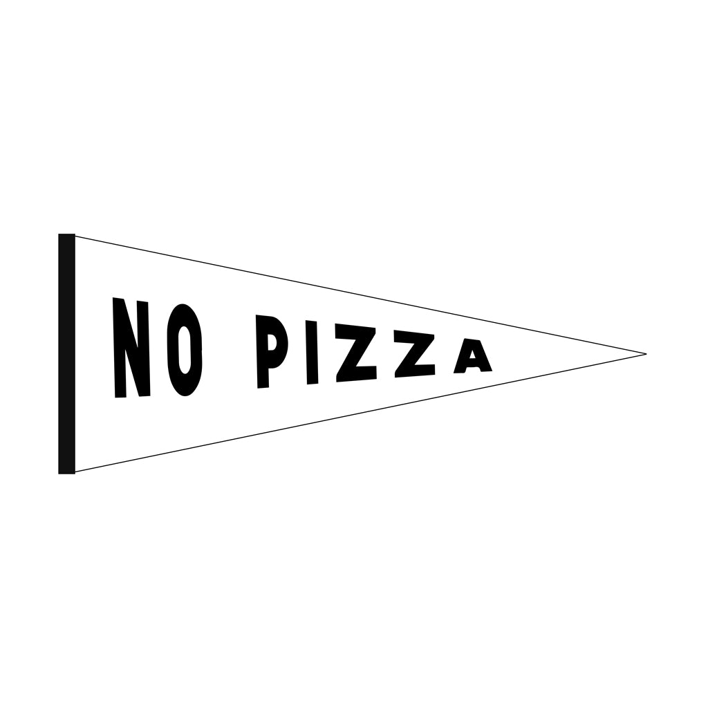William Bonney - No Pizza Pennant