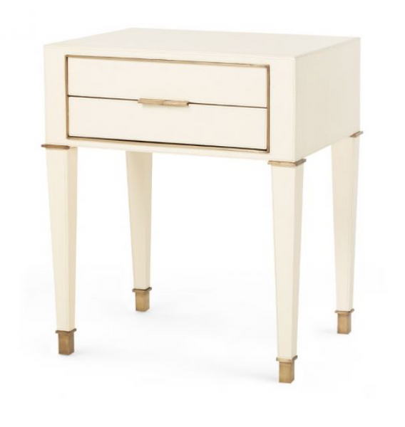 Hunter 2-Drawer Side Table