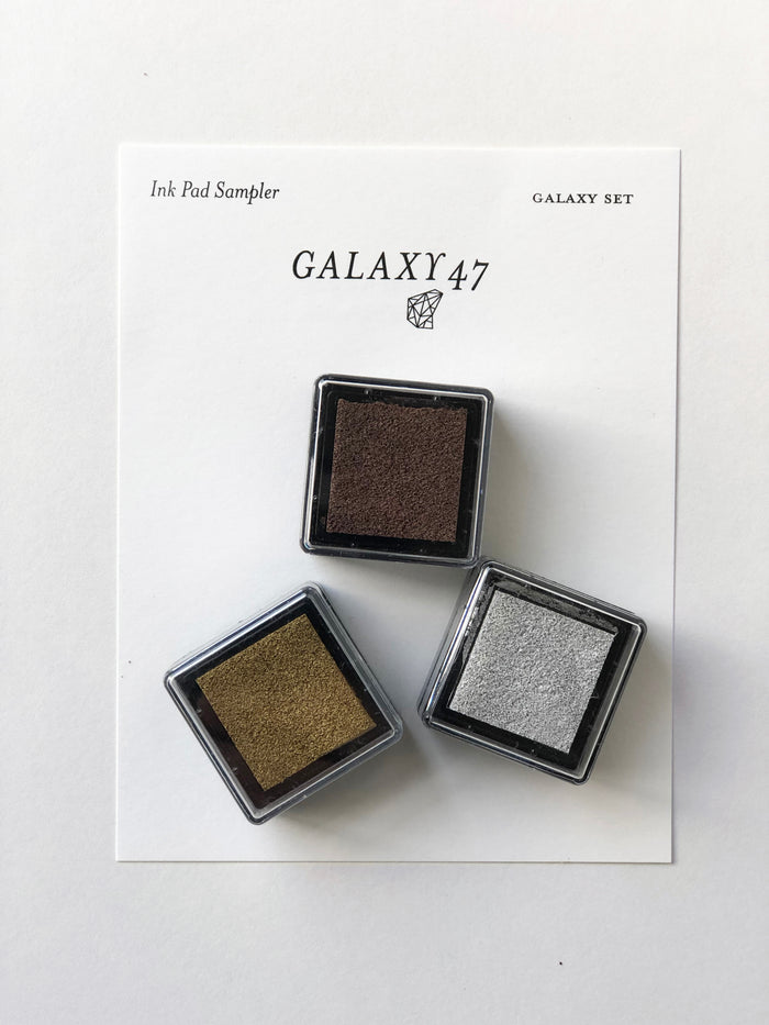 Galaxy Ink Pad Sampler