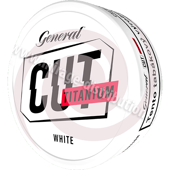 General CUT TITANIUM White CB 21,6 g (GCWT)