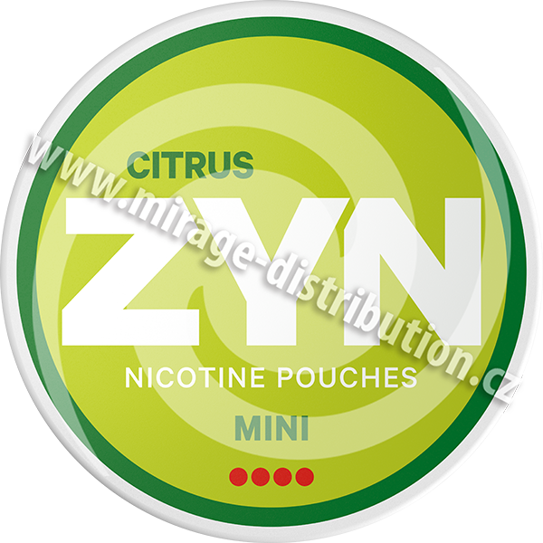 ZYN Citrus MINI 8g (ZCIM)