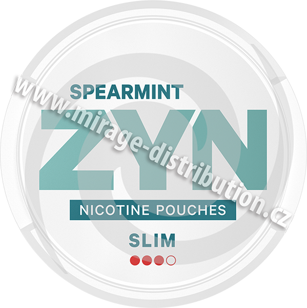 ZYN Spearmint Slim 16,8g (ZSP)