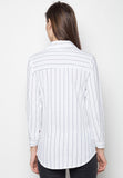 Striped Button Down Shirt - Caoros - 2