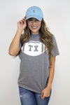 Texas Football Tee - Luna Boutique