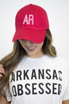 Arkansas Hat - Red