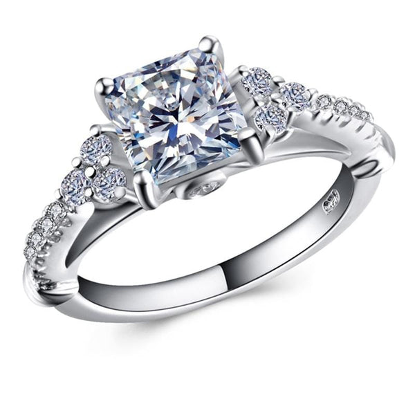 S27QZC27 925 Sterling Silver CZ Ring