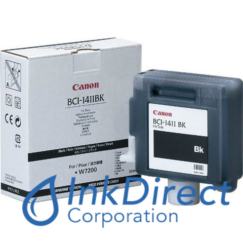 ( Expired ) Genuine Canon 7574A001Aa Bci-1411Bk Ink Jet Cartridge Black