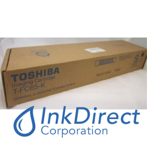 Genuine Toshiba TFC65K T-FC65-K Toner Cartridge Black e-Studio 5540C 6540C 6550C