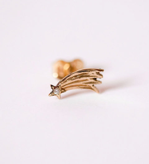 Shooting Star Earring / Gold