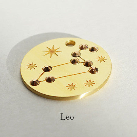 Leo Star-sign PugPendants for luxury dogs from Canine Chic of London