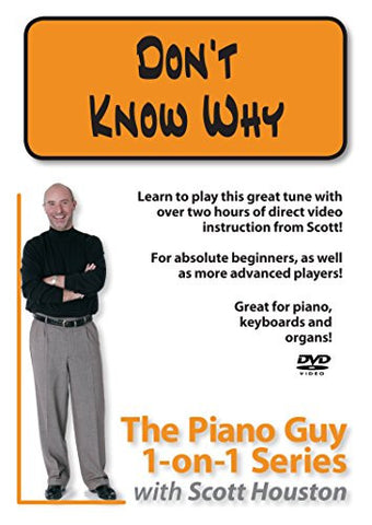 The Piano Guys 1-on-1 Series: Don't Know Why DVD