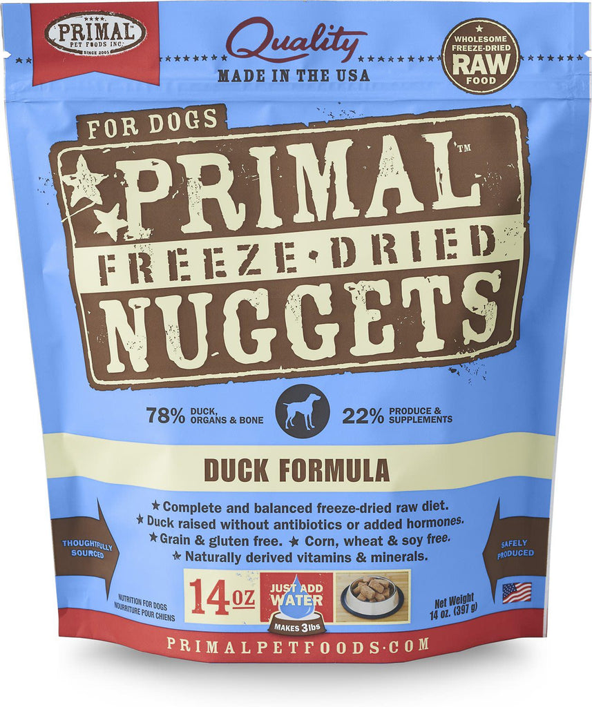 Primal Freeze-dried Duck