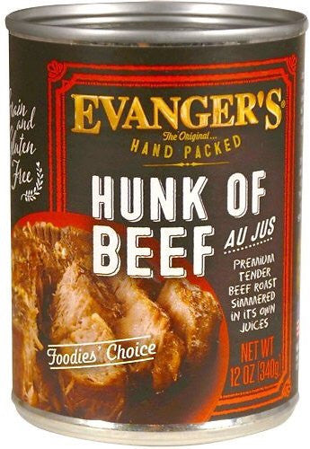Evangers Hand Packed Hunk Of Beef