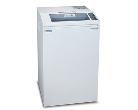 Shredders - Formax FD 8402CC Onsite Office Cross-Cut Shredder