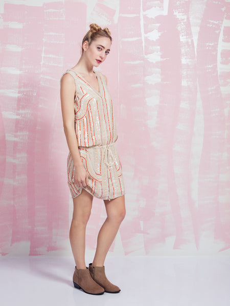 Dress Chic Sequin Deby Debo DEBY DEBO- Here Now