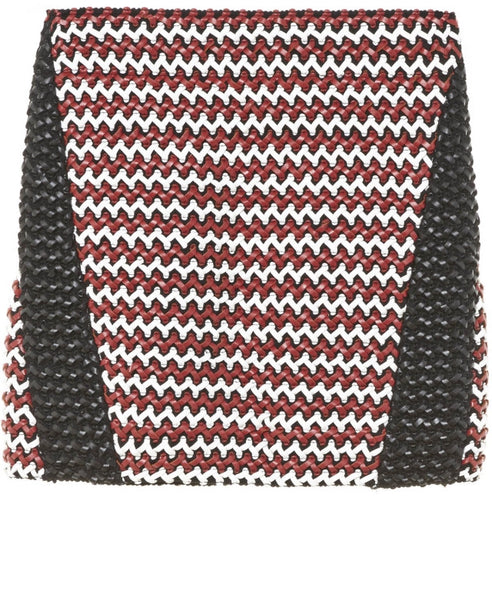 Zoe Karssen BRAIDED BODYCON MINI SKIRT Size M/L Zoe Karssen- Here Now
