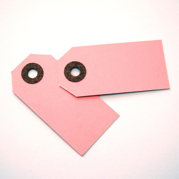Pink Small Shipping Tags / Gift Tags - Once Upon Supplies - 3