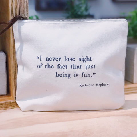 """I never lose sight of the fact"""