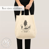 Game of Thrones Sansa Stark Queen of the North canvas tote bag