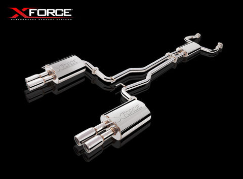 X FORCE SPORTS EXHAUST HOLDEN VE/VF SS SEDAN/WAGON 2006 ON - Exhaust Systems Direct