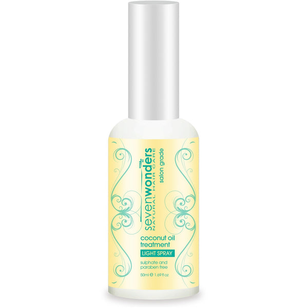 Seven Wonders Natural Hair Care Coconut Oil Light Spray