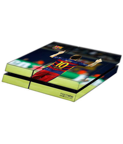 Strike Messi - Skin for Sony PS4 - Posterboy