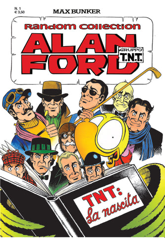 Alan Ford Random Collection n. 1 -  TNT: la nascita