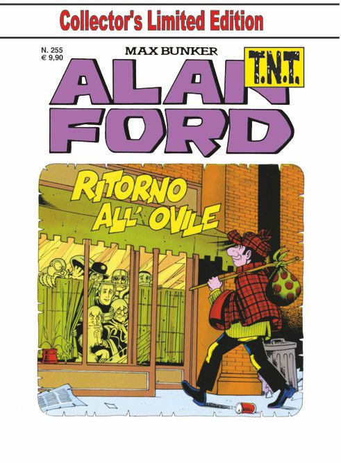 Alan Ford TNT n. 255 - Ritorno all'ovile