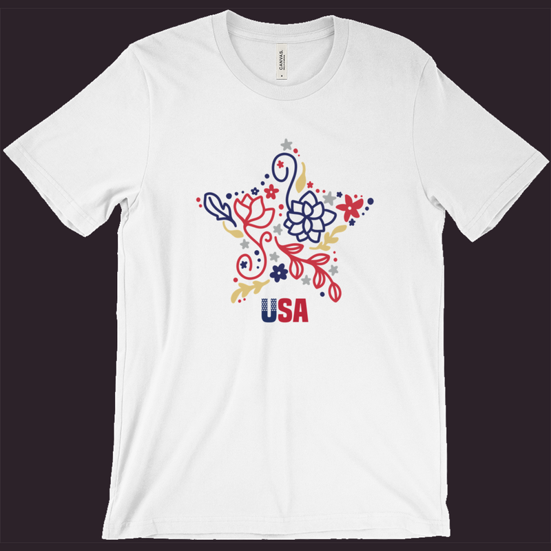 USA T-Shirt, Patriotic Shirt,Red White Blue,4th Of July Shirt,Womens Patriotic Shirt,Mens Patriotic Tee,Memorial Day,Independence Day, USA