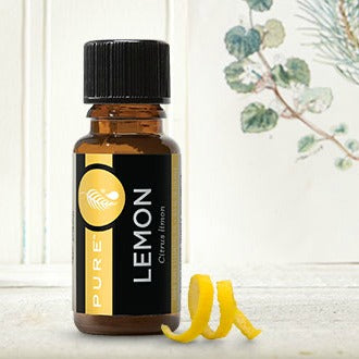 Lemon Essential Oil for Detoxing - Disinfecting - Skin - Freshening - Cleaning - Sanitizing - Depression