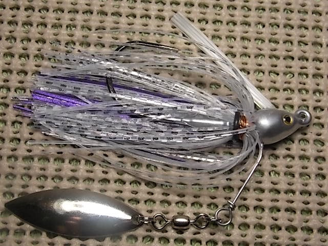 Underspin: Clear Silver/ Metallic Purple(Jesse 2)