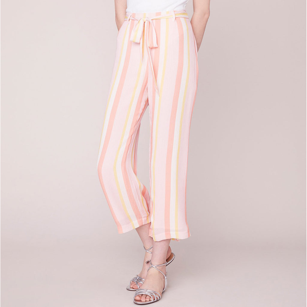 BB Dakota Orange Creamsicle Gauze Pant