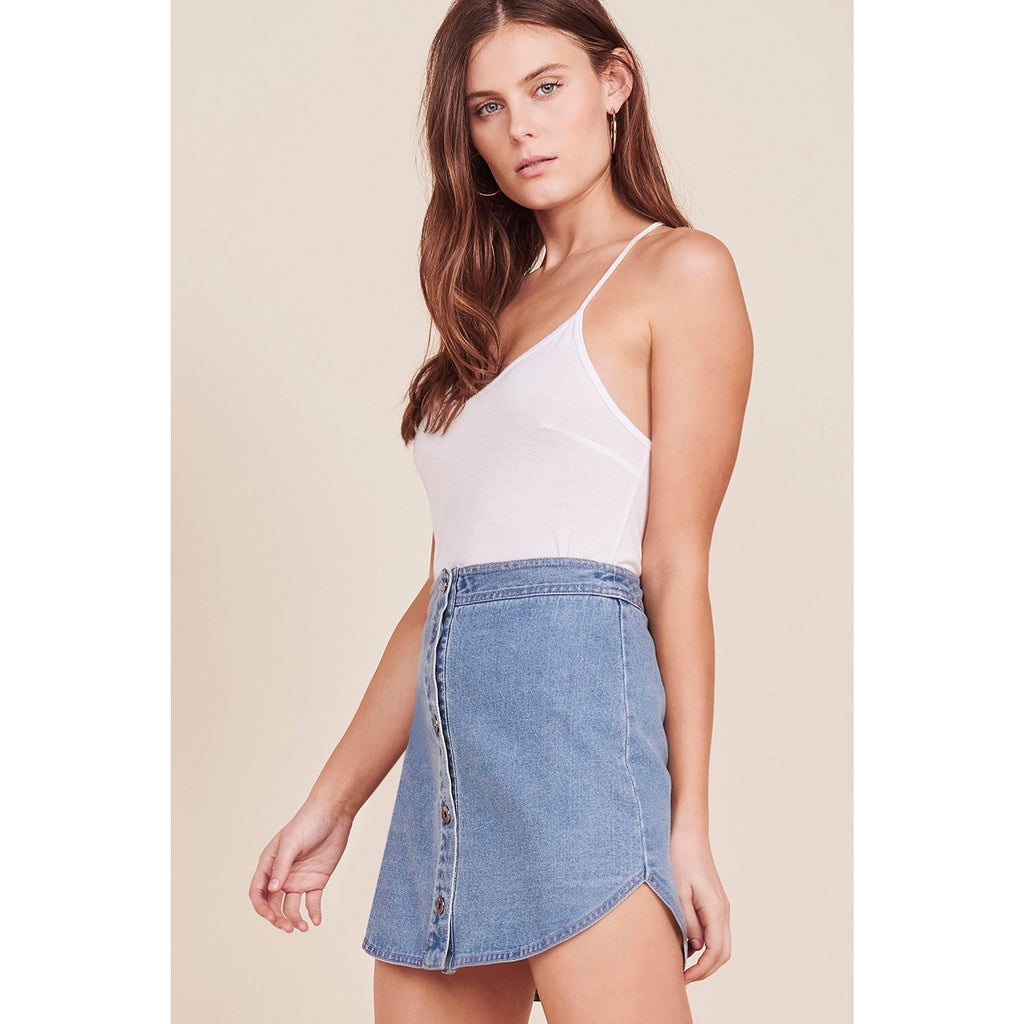 BB Dakota Macyn Denim Skirt