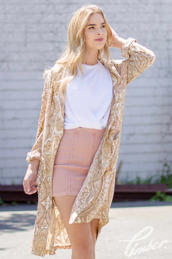 Free People Half Moon Duster