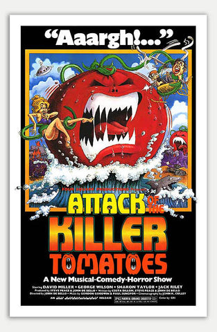 "Attack Of The Killer Tomatoes - 11"" x 17""  Movie Poster"