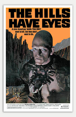 "Hills have eyes - 11"" x 17""  Movie Poster"