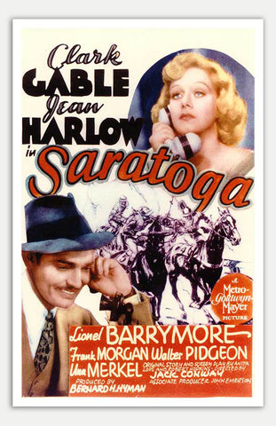 "Saratoga - 11"" x 17""  Movie Poster"