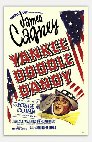 "Yankee Doodle Dandy - 11"" x 17""  Movie Poster"